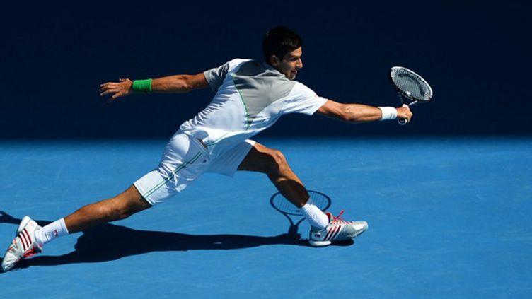 Novak Djokovic (WILLIAM WEST / AFP)