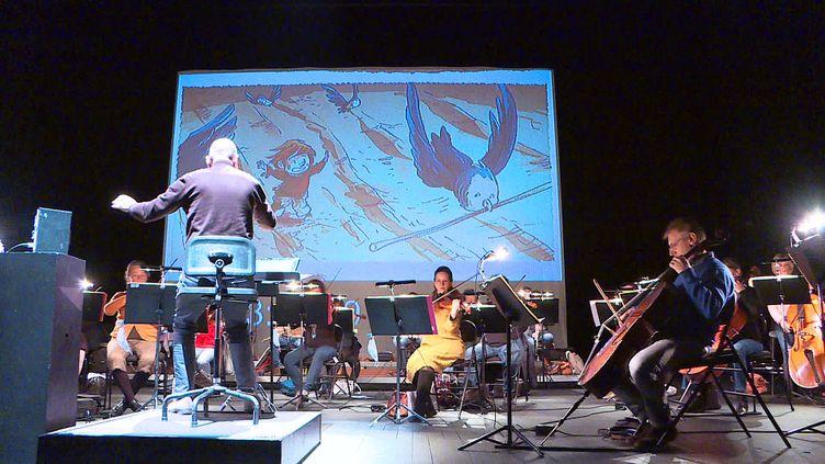 """""""A l'unisson"""", une BD-concert avec l'orchestre national de Picardie (France 3 Hauts de France)"""