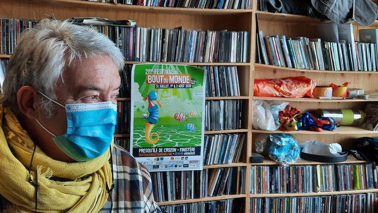 Jacques Guérin, le directeur du Festival du Bout du Monde (RADIOFRANCE / BENJAMIN  ILLY)