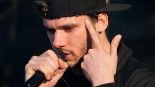 Le rappeur Orelsan sur scène en juin 2013.  (Samuel Dietz / MaxPPP)