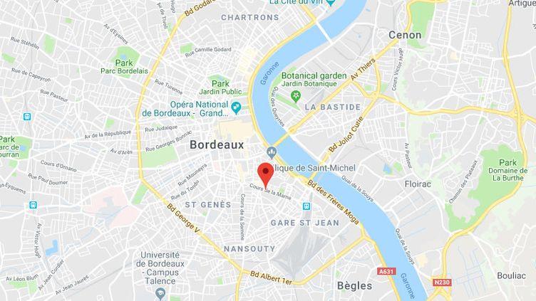 Le cimetière des Juifs portugais à Bordeaux a été vandalisé. (GOOGLE MAPS / FRANCETV INFO)
