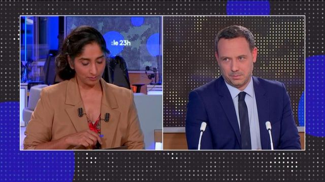 """Proposition de loi sécurité globale : """"il faut protéger les policiers"""", affirme Adrien Taquet"""