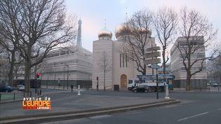 Le centre spirituel et culturel russe,àParis. (FRANCE 3 / FRANCETV INFO)