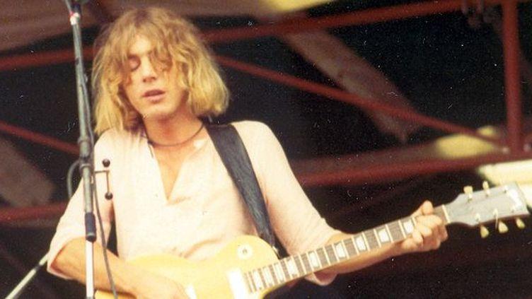 Kevin Ayers lors d'un concert gratuit à Hyde Park le 29 juin 1974  (Tim Duncan/ Wikimedia Commons)
