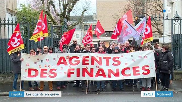 Impôts : les agents en grève pour sauver les trésoreries locales
