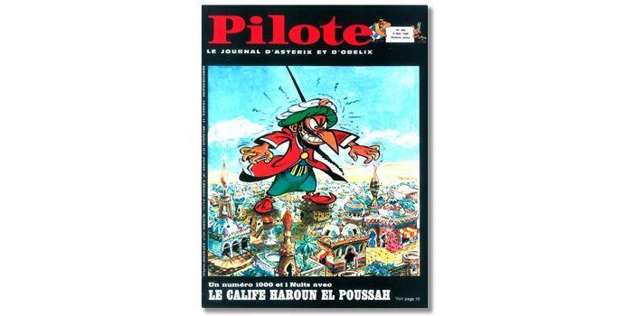 Izenogoud en Une du magazine Pilote  (DR)