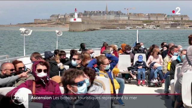 Pont de l'Ascension : les bateaux touristiques reprennent la mer