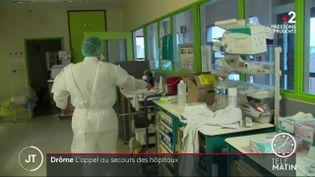 Dans l'hôpital de Romans-sur-Isère. (France 2)