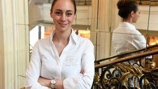 La cheffe Nina Metayer. (BERTRAND GUAY / AFP)