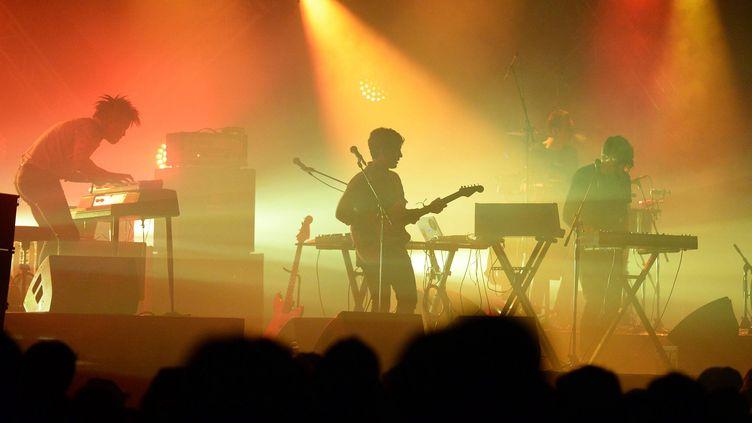 Yuksek a présenté son nouveau projet en live lors des dernières Trans Musicales de Rennes, en décembre dernier (MARC OLLIVIER / MAXPPP)