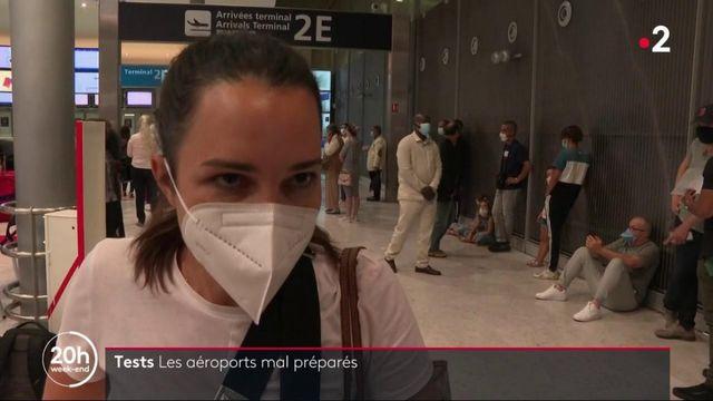 Tests au coronavirus : les aéroports mal préparés