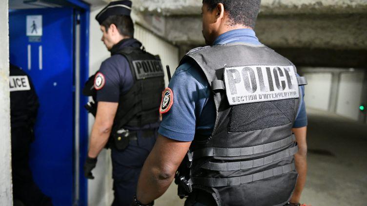 Dijon, le 19 juin 2020. Perquisitions dans le quartier des Grésilles après les affrontements du weekend dernier.          (MAXPPP)