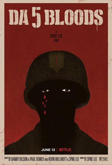 """L'affiche du film """"Da 5 Bloods"""" de Spike Lee distribué par Netflix. (NETFLIX)"""