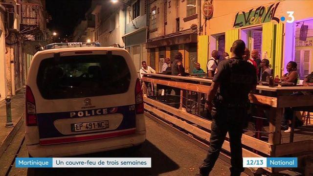 Martinique : un couvre-feu nocturne instauré pour trois semaines
