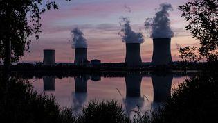 La centrale nucléaire de Cattenom, en Moselle, le 2 juin 2020. (SEBASTIEN BERDA / AFP)