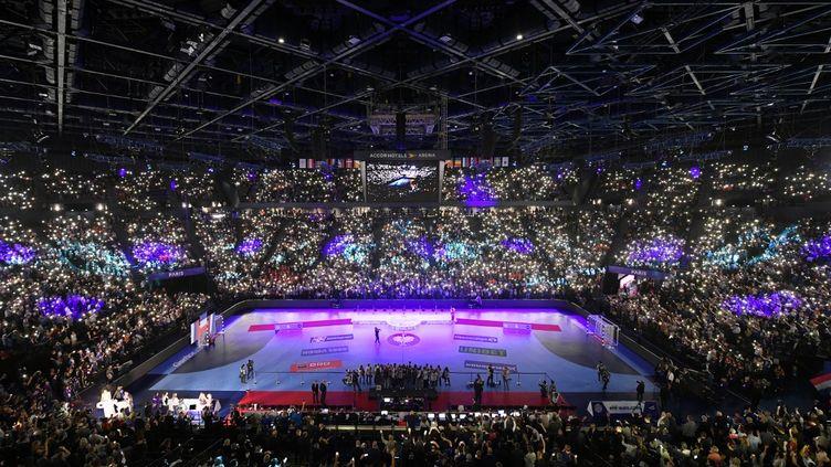 La finale de l'Euro de Hand 2018, à Bercy (Paris). (PHILIPPE MILLEREAU / DPPI MEDIA)