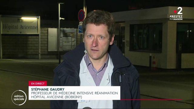 """Coronavirus: """"Nos capacités sont dépassées"""", déplore le médecin Stéphane Gaudry de l'hôpital de Bobigny"""