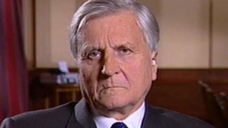 Jean-Claude Trichet, président de la BCE (© F2)