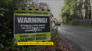 Le Brexit provoque des secousses en Irlande du Nord, qui a 100 ans (FRANCEINFO)