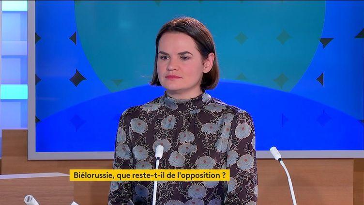 SvetlanaTikhanovskaïa (FRANCEINFO)