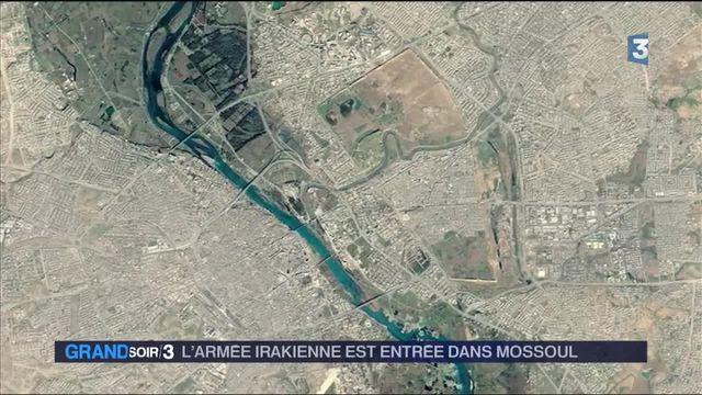 Irak : l'armée a fait son entrée dans Mossoul