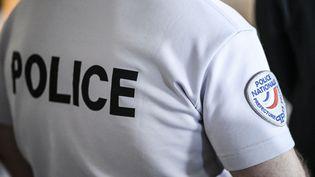 Un membre de la police nationale, le 1er septembre 2020, à Paris. (PATRICK FOUQUE / AFP)