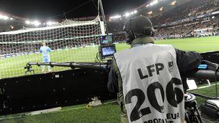 Avant-match entre le PSG et Saint-Etienne, le 16 mars 2014 au Parc des Princes à Paris. (JEAN MARIE HERVIO / DPPI MEDIA / AFP)