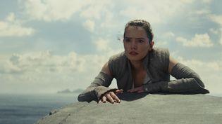 """Daisy Ridley dans le rôle de Rey dans """"Star Wars : Les Derniers Jedi"""", en 2017. (LUCASFILM/ILM)"""