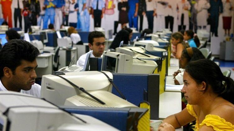 Le Brésil s'équipe toujours plus en ordinateurs (AFP Mauricio Lima)