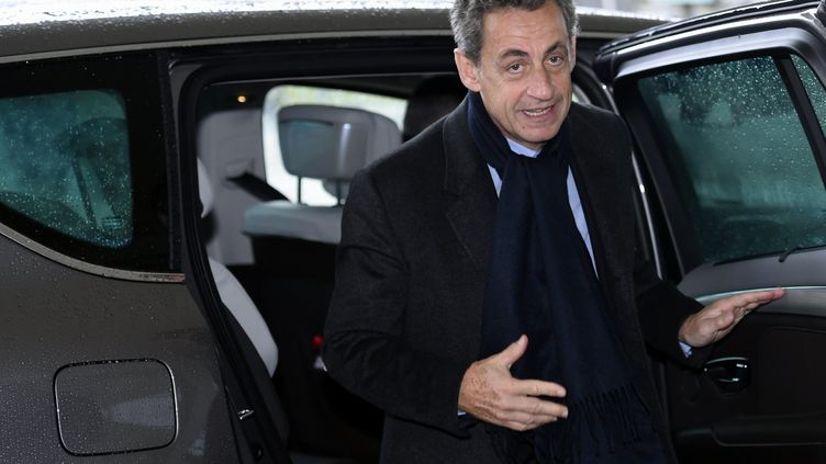 Nicolas Sarkozy, le 10 novembre 2017 à Metz (Moselle). (MAXPPP)