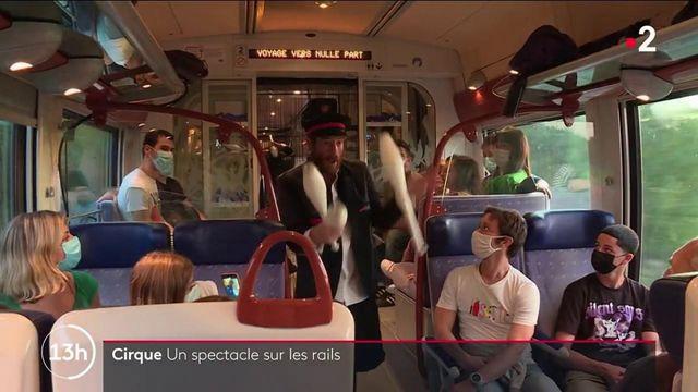 Spectacle : le cirque s'invite sur les rails