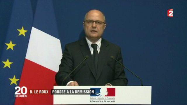 Affaire Bruno Le Roux : le ministre poussé à la démission