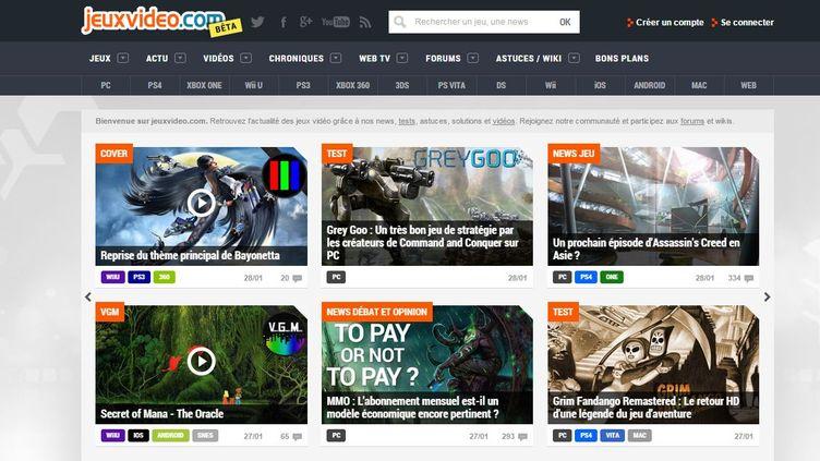 Capture d'écran du site Jeuxvideo.com. (JEUXVIDEO.COM)