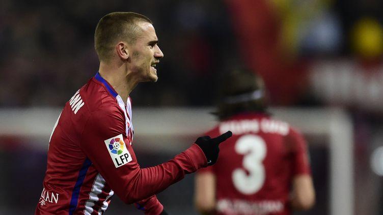 Antoine Griezmann (Atlético Madrid) (JAVIER SORIANO / AFP)