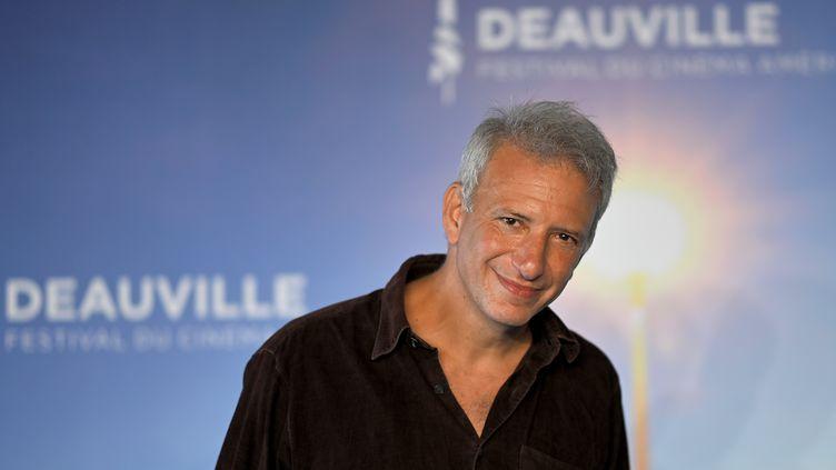 Le réalisateur américain Jonathan Nossiter à Deauville le 6 septembre 2020 (LOIC VENANCE / AFP)