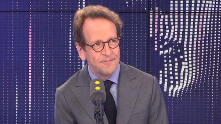 Gilles Le Gendre, président du groupe LREM à l'Assemblée nationale, sur franceinfo le vendredi 26 juillet. (FRANCEINFO)