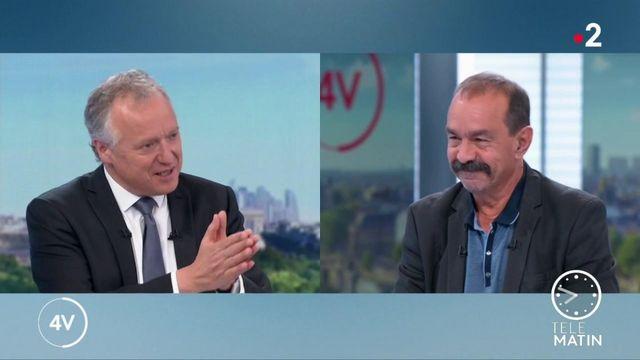 """Chômage : """"Nous proposons de travailler 32 heures"""", indique Philippe Martinez (CGT)"""