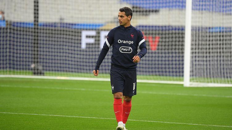 Wissam Ben Yedder, le 11 novembre, au Stade de France, à Paris.  (CHRISTOPHE SAIDI/SIPA)