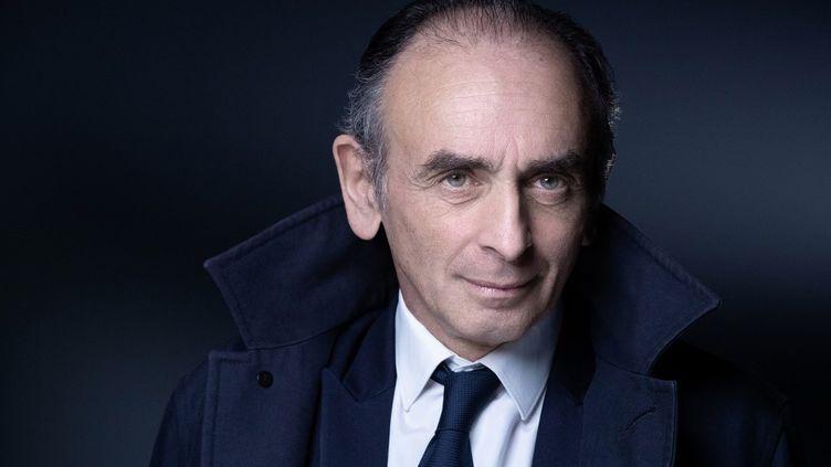 Le polémiste Eric Zemmour, le 22 avril 2021 à Paris. (JOEL SAGET / AFP)