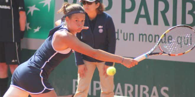 La Française Chloé Paquet
