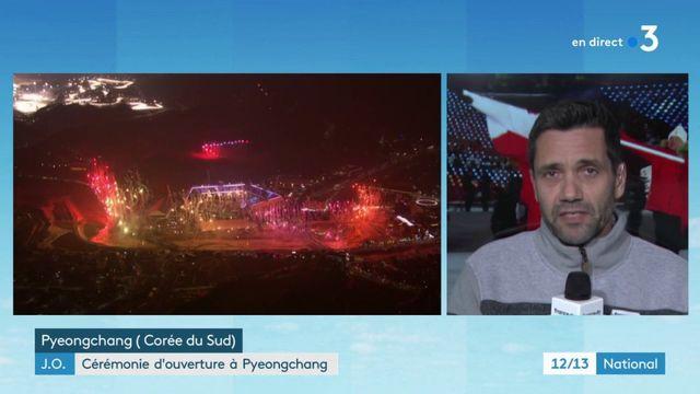 Jeux olympiques d'hiver 2018 : la moitié des athlètes assistent à la cérémonie d'ouverture