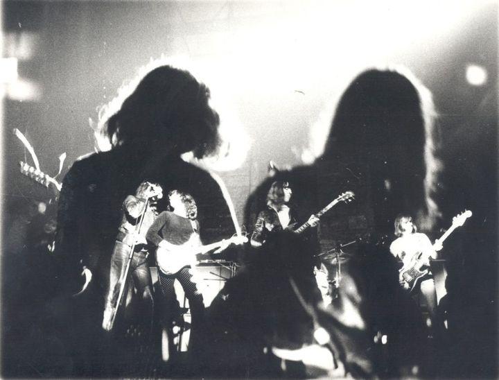 Ganafoul sur scène en 1976 (DR)
