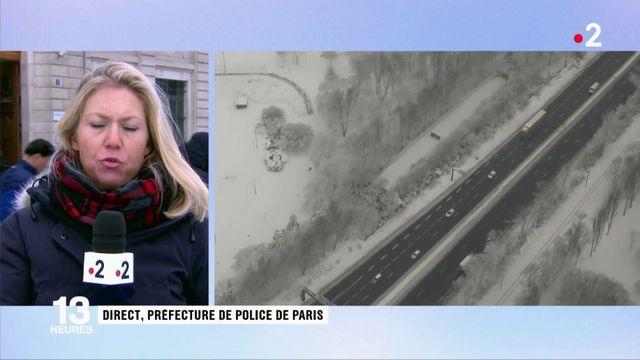 """Neige : """"une situation sans précédent"""" selon le préfet de police de Paris"""