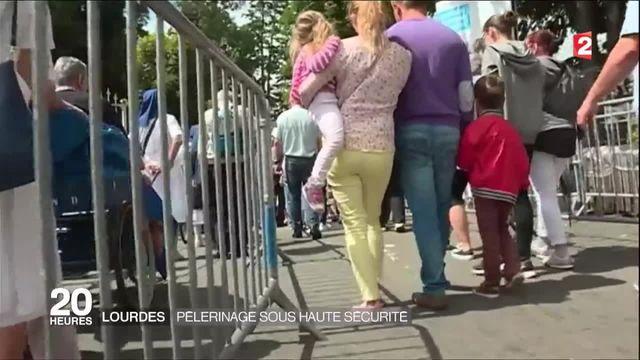 Lourdes : un pèlerinage sous très haute surveillance