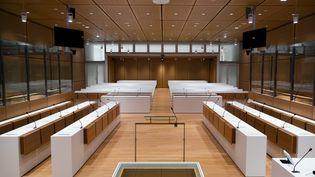 Une salle d'audience du tribunal de grande instance de Paris, le 27 mars 2018. (VINCENT ISORE / MAXPPP)