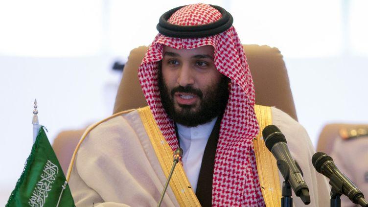 Le princehéritierMohammed Ben Salmane à Riyad, en Arabie saoudite, le 26 novembre 2017. (BANDAR AL-JALOUD / SAUDI ROYAL PALACE / AFP)