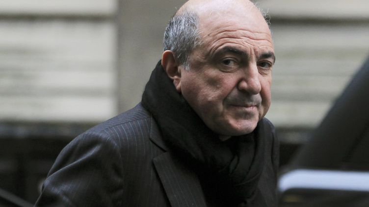 L'ancien oligarque russe Boris Bezerovski, le 19 décembre 2011 à Londres (Russie). (OLIVIA HARRIS / REUTERS / X02875)