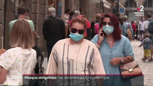 Masques : certaines villes obligent leur port