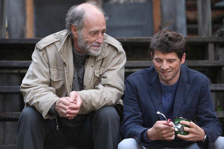 """Gabriel Arcand et Pierre Deladonchamps dans """"Le Fils de Jean"""" de Philippe Lioret  (Sebastien Raymond / Fin Aout Productions)"""