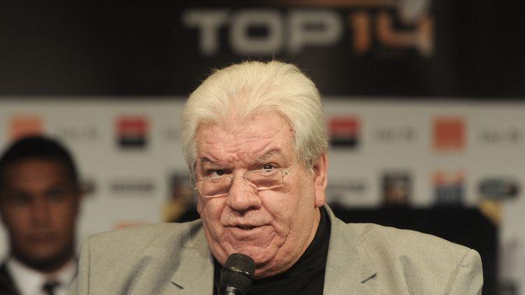 Paul Goze, le président de la Ligue Nationale de Rugby. (DOMINIQUE FAGET / AFP)